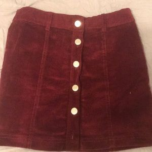 Bershka BSKGIRL size small skirt
